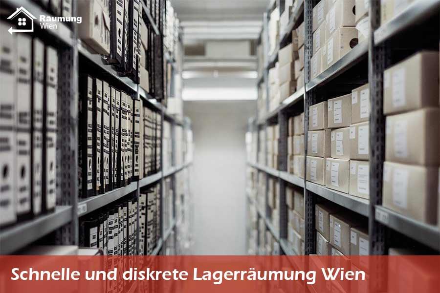 Lagerräumung in Wien